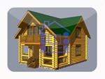 деревянный дом из костромы 112.4 м2