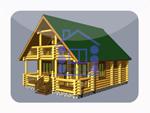 деревянный дом из костромы 114.6 м2