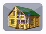 деревянный дом из костромы 115.1 м2