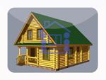 деревянный дом из костромы 117.4 м2