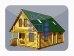 деревянный дом из костромы 121.2 м2