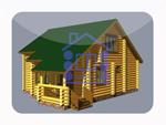 деревянный дом из костромы 121.5 м2