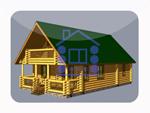 деревянный дом из костромы 134.4 м2
