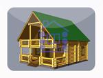 деревянный дом из костромы 153.6 м2