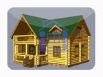 деревянный дом из костромы 166 м2