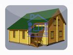 деревянный дом из костромы 172.5 м2