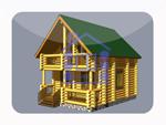деревянный дом из костромы 68,8 м2