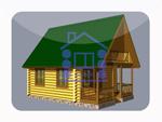 деревянный дом из костромы 76.7 м2