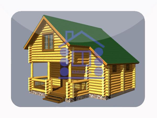 эскизный проект деревянный дом 90.6м из костромы