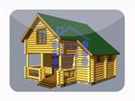 деревянный дом из костромы 90.6 м2