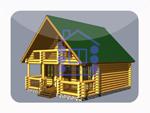 деревянный дом из костромы 92.5 м2